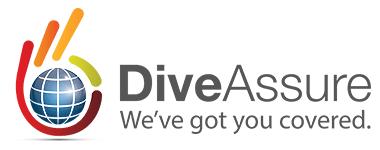 DiveAssure Retina Logo